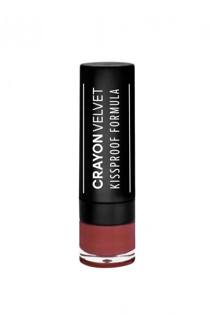 Crayon Velvet #509 (Burgundy)