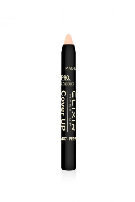 Pro. Concealer - Cover UP - #487 (Perfect Caramel)