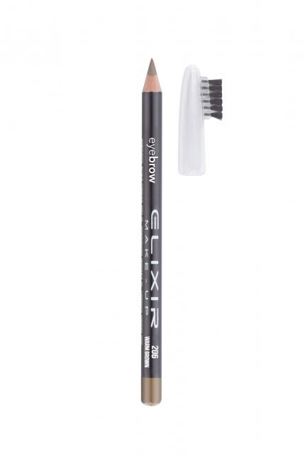 Μολύβι φρυδιών - #206 (Warm Brown)