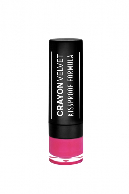 Crayon Velvet #515 (Deep Pink)